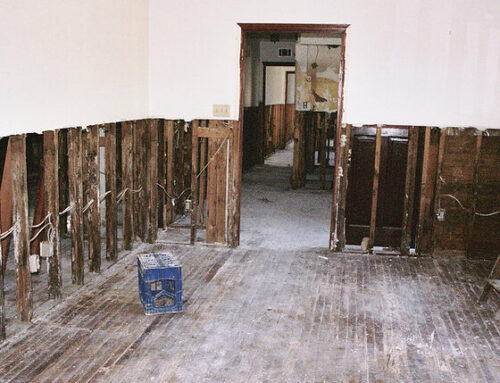 Repairing and Preventing Water Damage in a Wall